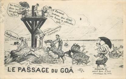 """CPA FRANCE 85 'Ile de Noirmoutier, le passage du Goâ"""""""