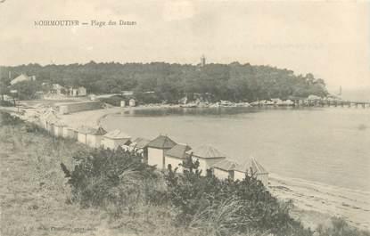 """CPA FRANCE 85 'Ile de Noirmoutier, Plage des Dames"""""""