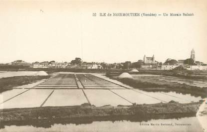 """CPA FRANCE 85 'Ile de Noirmoutier, Marais salant"""""""