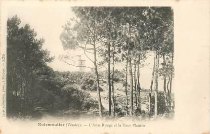 """CPA FRANCE 85 'Ile de Noirmoutier, L'Anse Rouge et la Tour Plantier"""""""