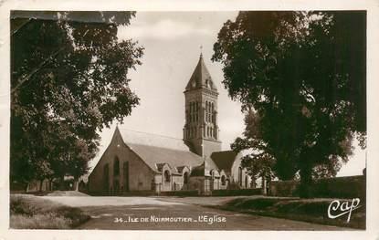 """CPA FRANCE 85 'Ile de Noirmoutier, l'Eglise"""""""