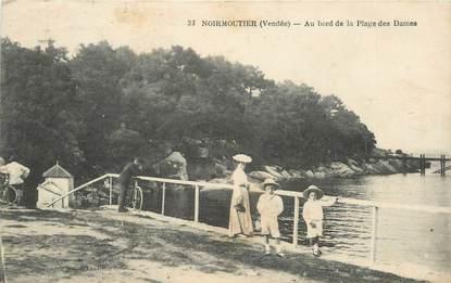 """CPA FRANCE 85 'Ile de Noirmoutier, la Plage des Dames"""""""