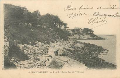 CPA FRANCE 85 'Ile de Noirmoutier, les Rochers Saint Philibert""