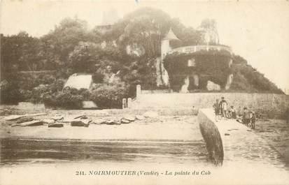 """CPA FRANCE 85 'Ile de Noirmoutier, la Pointe du Cob"""""""