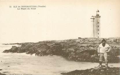 """CPA FRANCE 85 'Ile de Noirmoutier, le Phare du Pilier"""""""