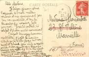 """Marcophilie (Lettre Et Cartes) MARCOPHILIE POSTE MARITIME sur CPA VIETNAM """"Saïgon"""""""