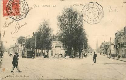 """MARCOPHILIE POSTE MARITIME sur CPA FRANCE """"Bordeaux"""""""