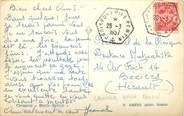 Marcophilie (Lettre Et Cartes) MARCOPHILIE POSTE NAVALE sur CPA CROISEUR EMILE BERTIN