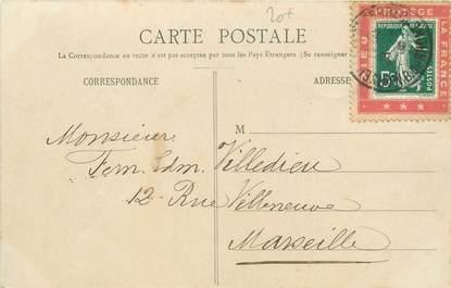 """MARCOPHILIE VIGNETTE sur CPA FRANCE 88 """"Domrémy"""""""