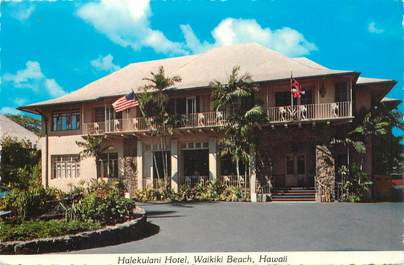"CPSM USA ""Hawaii, Hotel Halekulani"""