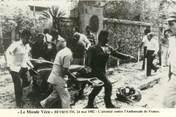 "Asie CPSM LIBAN ""Beyrouth, attentat contre l'ambassade de France, 1982"""