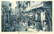 "Maroc CPA MAROC ""Fès, la grande rue du Mellah"" / JUDAICA"
