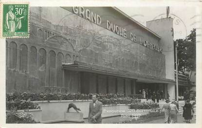 CPA LUXEMBOURG / Exposition Internationale Paris 1937