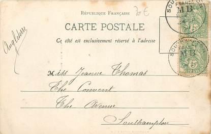 """MARCOPHILIE POSTE MARITIME sur CPA FRANCE 83 """"Toulon, l'Homme aux chiens"""""""