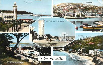 "CPSM ALGERIE ""Philippeville"""