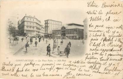 """CPA ALGERIE """"Constantine, place Valée"""""""