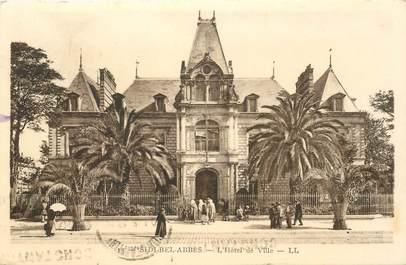 "CPA ALGERIE ""Sidi Bel Abbès, Hotel de ville"""