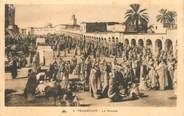 """Algerie CPA ALGERIE """"Touggourt, le marché"""""""