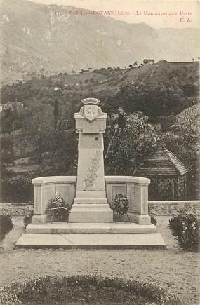"""/ CPA FRANCE 38 """"Pont en Royans"""" / MONUMENT AUX MORTS"""