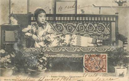 """CPA CHINE """"Femme chinoise"""""""