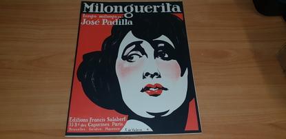 "PARTITION MUSIQUE ""Milonguerita, Tango milonga par José PADILLA, Ed. F. SALABRT, Paris"""