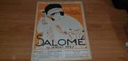 """Vieux Papier PARTITION MUSIQUE """"Salomé, par Robert STOLZ, Ed. L. Maillochon, Paris, partition pour piano seul"""""""
