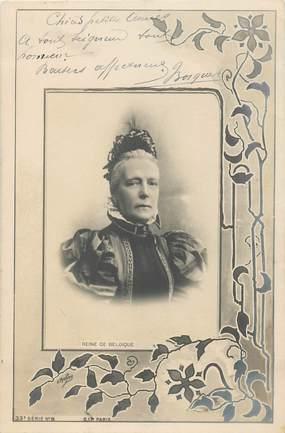 "CPA BELGIQUE "" Reine de Belgique"""