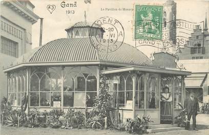 """CPA BELGIQUE """" Gand, le pavillon de Monaco"""""""