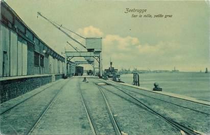 """CPA BELGIQUE """" Zeebrugge"""""""