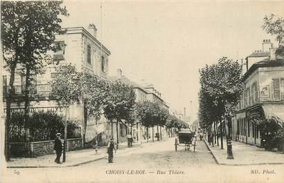 """CPA FRANCE 94 """"Choisy le Roi, rue Thiers"""""""