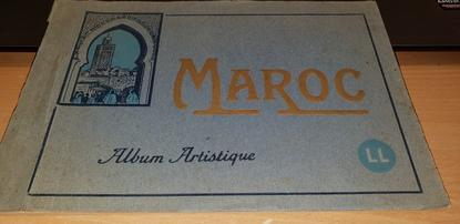 CARNET MAROC / Album artistique (Marrakech, Rabat, Casablanca, Sale, Volubilis...)