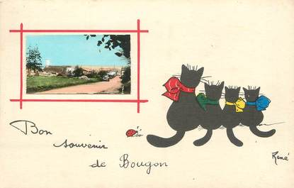 """/ CPA FRANCE 79 """"Bougon"""""""