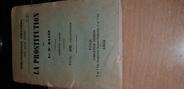 Vieux Papier RARE PETIT LIVRE SUR LA PROSTITUTION 1893