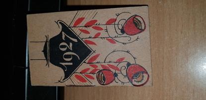 PETIT CALENDRIER 1927 / PUBLICITE KABILINE Teinture vêtements