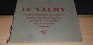 Vieux Papier LIVRET CONTRE TORPILLEUR Le VALMY, Saint Nazaire (Penhoët)