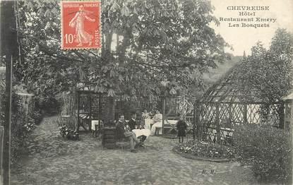 """/ CPA FRANCE 78 """"Chevreuse, hôtel restaurant Emery les Bosquets"""""""