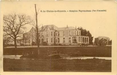 """CPA FRANCE 85 """"La Chaize le Vicomte, Hospice Payraudeau"""""""