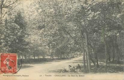 """CPA FRANCE 85 """"Challans, le Bois de Breuil"""""""