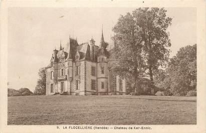 """CPA FRANCE 85 """"La Flocellière, Chateau de Ker Ennic"""""""
