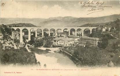 """CPA FRANCE 26 """"Saint Nazaire en Royans, l'aqueduc de la Bourne"""""""