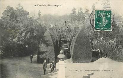 "CPA FRANCE 85 ""Luçon, le Jardin Dumaine"""