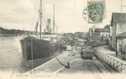 """64 PyrÉnÉe Atlantique / CPA FRANCE 64 """"Bayonne, le quai de Lesseps"""" / BATEAU"""