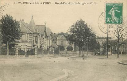 """CPA FRANCE 94 """"Joinville le Pont, Rond Point de Polangis"""""""