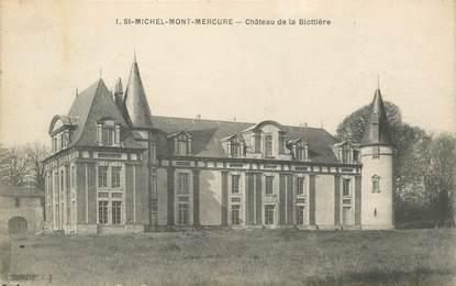 """CPA FRANCE 85 """"Saint Michel Mont Mercure, chateau de la Blottière"""""""