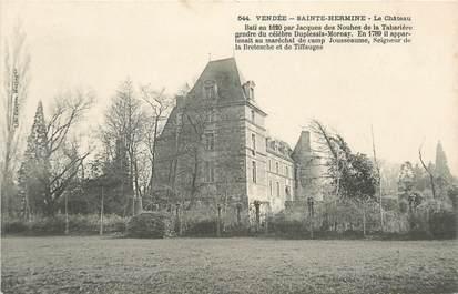 "CPA FRANCE 85 ""Sainte Hermine, le chateau"""