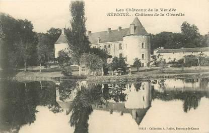"""CPA FRANCE 85 """"Sérigné, chateau de la Girardie"""""""