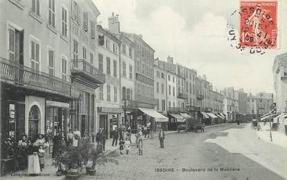 """/ CPA FRANCE 63 """"Issoire, Bld de la Manlière"""""""