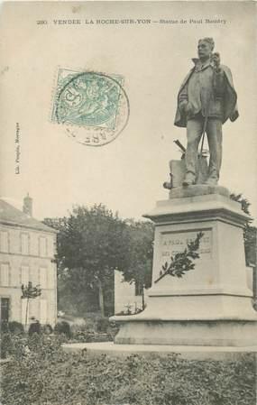 """CPA FRANCE 85 """"La Roche sur Yon, statue de Paul Baudry"""""""