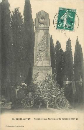 """CPA FRANCE 85 """"La Roche sur Yon, le monument aux morts"""""""