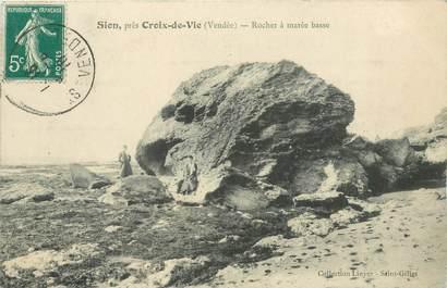 """CPA FRANCE 85 """"Sion, Rocher à marée basse"""""""